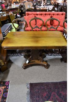 William IV rosewood table