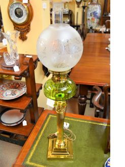 Victorian oil lamp (converted)