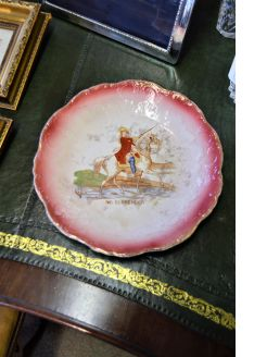 Victorian plate, King William