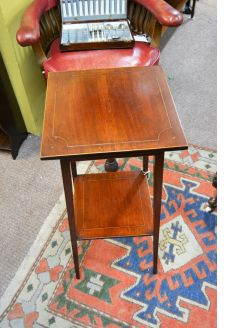 Edwardian mahogany occasional table/plant stand