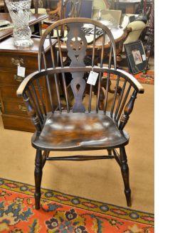Oak windsor armchair