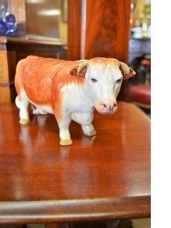 Coopercraft porcelain bull
