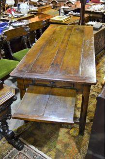 French oak farm house style table