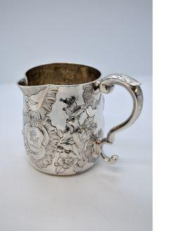 18th century Irish silver jug