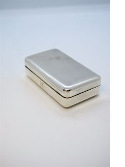 Georgian silver snuff box