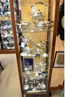 Large selection of silver