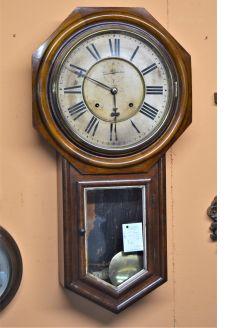 19th century wall clock