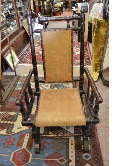 Victorian childs rocking chair