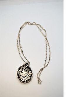 Silver chain & pendant