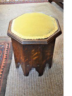 Oak sewing box