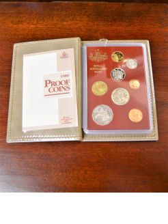 Royal Australian mint coin set