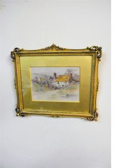 19th century watercolour