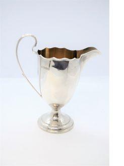 Silver creaming jug