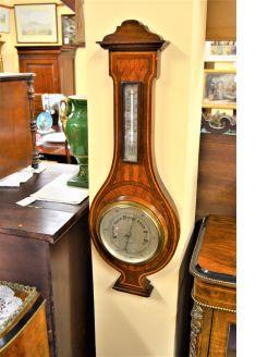 Mahogany cased barometer