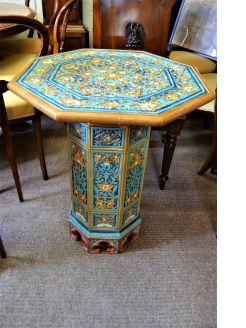 Ceramic lambeth doulton mosaic table