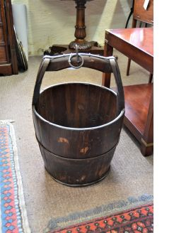 Wooden Chinese rice buckets