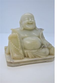 Carved soap stone Buddha