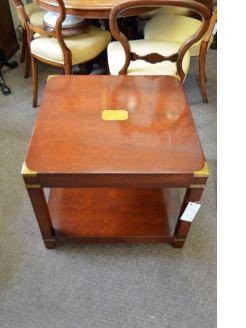 Mahogany low table