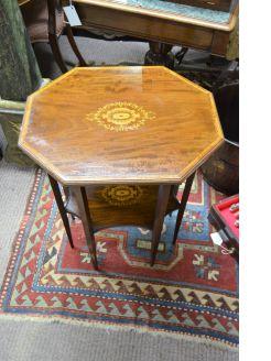 Edwardian mahogany occasional table