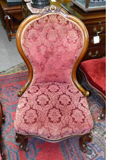 Victorian low chair