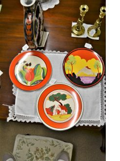Wedgewood,Clarice Cliff centenary limited edition plates