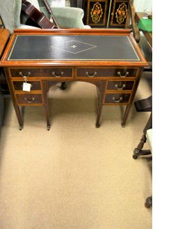 Edwardian mahogany desk