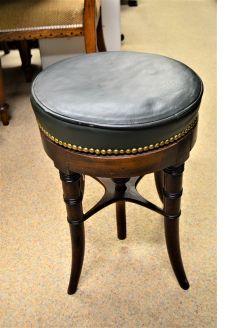 Victorian mahogany piano stool