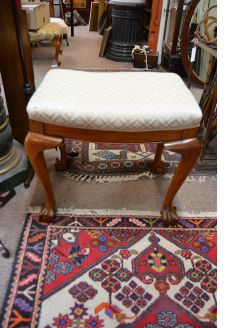 1920s Oak stool