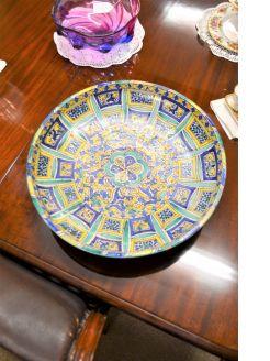19th century moorish bowl