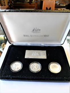 Royal Australian mint silver proof set