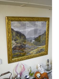 Gilt framed watercolour