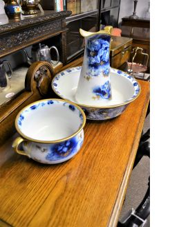 Three piece jug & basin set
