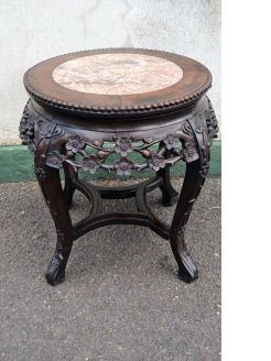 Chinese cherrywood plant stand