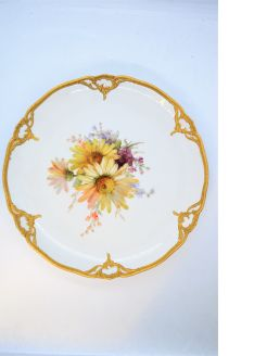 KPM Berlin porcelain cabinet plate