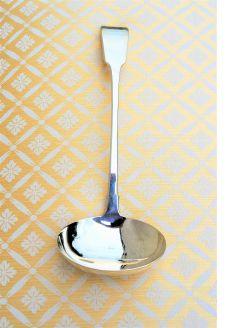 Irish silver ladle
