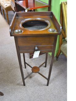 19th century mahogany washstand