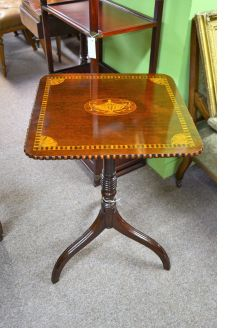 19th century mahogany occasional table