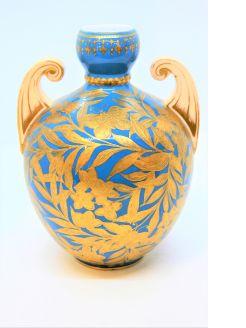 19th century derby vase