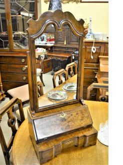 Georgian style dressing mirror