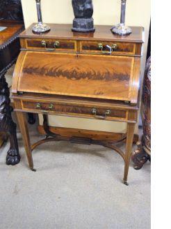 Edwardian mahogany desk / bureau