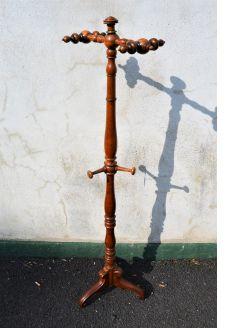 Victorian mahogany coat & hat stand