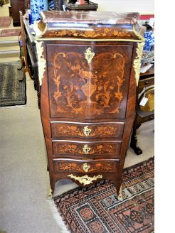 Victorian French desk / cabinet