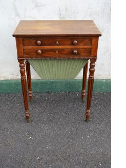 Regency Rosewood sewing  work table