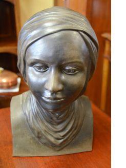 European ceramic head