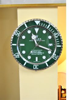 Rolex Display wall clock