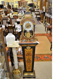 French style clock & pedestal