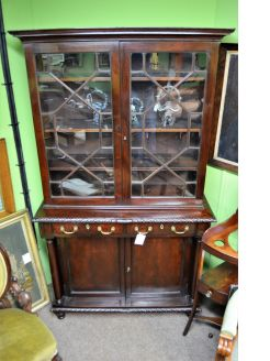 19th century bookcase