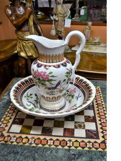 Porcelain jug & basin