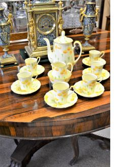 15 piece grafton china coffee set