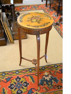 Edwardian satinwood table